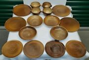 Stoneware Tableware By Fontgombault Abbey In France Benedictine Monks 16 Pieces