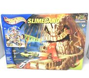 Brand New 2004 Hotwheels Slimecano Playset Lava Land Racing Track With Sounds