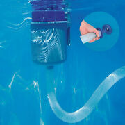 Pool Wall Mounting Surface Skimmer Flotation Cleaner Attracts Leaves Debris