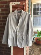 Victorinox Swiss Traveler Jacket Size 40 Cotton Blend Multipocketed Vented