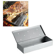 Large Capacity Thicken Smoker Box Charcoal Gas Grill Bbq Grilling Tool