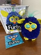 Furby Boom 2012 5 Interactive Electronic Toy App Blue Yellow Starry Night