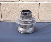 Dressel Railroad Switch / Marker Lamp Lantern Vent Cone Assembly Complete
