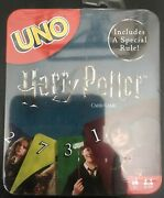 Uno Harry Potter Card Game New Sealed