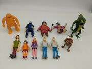 Scooby-doo Figure Set Hanna Barbera Collectible Toy Lot Of 11
