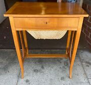 Antique Edwardian Sewing Table