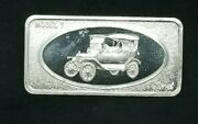 Patrick Mint Model T Ford 1 Oz .999 Fine Silver Bar Rare Dated Reverse Free S/h
