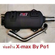 Exhaust Systems Yamaha Xmax 300 Stainless Motorcycle Parts Full System Side Pipe
