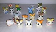 Hamtaro Figures - 19 Total - R.s.s.t, Xlc And Others