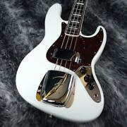 Fender Japan Fsr Made In Traditional Late 60s Jazz Bass Olympic White