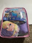 Disney Frozen Elsa And Anna Full Comforter Sheets And Shams 7pc Bed In A Bag