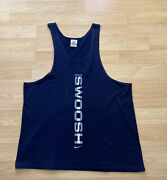 Vintage Nike Tank Top Swoosh Sample Made In Usa 90s Menand039s M