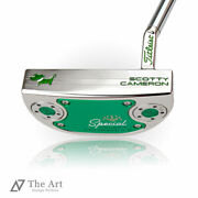 Scotty Cameron Custom Putter 2020 Special Select Fastback 1.5 Happy Dog Shine