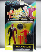 Batman Forever Two-face With Turbo-charge Cannon And Good/evil Coin
