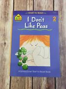 Start To Read I Dont Like Peas Level 2 Reader Ages 4-7 Paperback Book