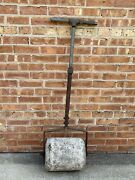 """12.5"""" Concrete Lawn Roller For Installing Sod, For Grass Seeds And Lawn Repair"""