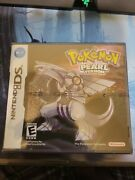2007 Pokemon Pearl Version Nintendo Ds Brand New Factory Sealed Authentic Game