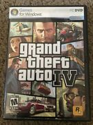 Grand Theft Auto Iv Liberty City Pc Dvd Game Gta4 Complete Map Poster