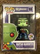 Funko Pop Heroes Dc Universe Martian Manhunter 2011 Sdcc Limited Edition 18