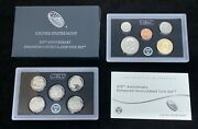 2017 United States Mint 225th Anniversary Enhanced Uncirculated Coin Set W/ Ogp