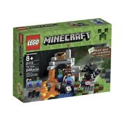 21113 In Stock Now Lego Minecraft The Cave Rare Mine Craft Steve Minifigure