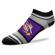 Lsu Tigers For Bare Feet Womenand039s Marquis Addition Ankle Socks