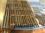 Vintage Lionel Train O Gauge Tracks-lot Of 67 4 Curved, 62 Straight And 1 Mar