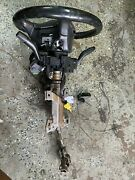 02-05 Honda Civic Si Ep3 Hatchback Steering Column And Wheel With Keys, Switches