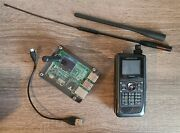 Kenwood Thd74a Tri-band Handheld Transceiver W/ Accessories And Raspberry Pi