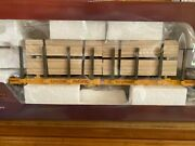 Piko G Scale Up Flatcar With Lumber Load 38757