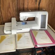 Baby Lock Ellegante Sewing Embroidery Machine Just Serviced Case And Accessories