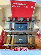 Lgb 14151 Insulated Train Track Sections 2 With Box G Scale