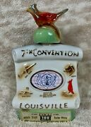 Jim Beam Decanter 7th Convention Louisville My Old Kentucky Home Derby City 1977