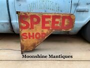 Custom Made - Vintage Style Hot Rod Speed Shop Light Up Sign - Gas And Oil -