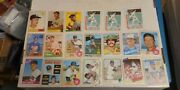 20 Vintage Baseball Cards 1950's To 80's Everything Listed