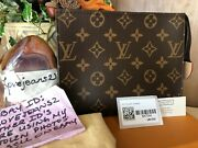 Brand New Louis Vuitton Monogram Toiletry Pouch 19 Discontinued Full Set