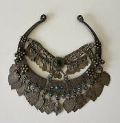 Antique Vintage Statement Necklace Middle Eastern Collar Necklace Ethnic Jewelry