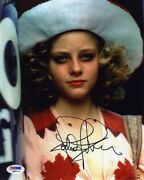 Jodie Foster Taxi Driver Autographed Signed 8x10 Photo Authentic Psa/dna Coa