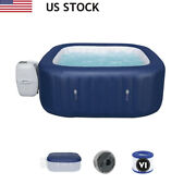 Bestway 6 Person Inflatable Hot Tub Spa With Pump 60022e Spa Pool Us Ship