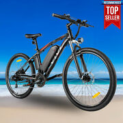 500w/27.5and039and039 Electric Mountain Bicycle Bikeebike Removeable Li-battery-21speedf