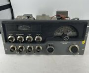 Vintage Hallicrafters Model Ht-32 Transmitter Powers On