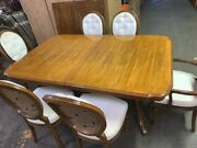 Vintage Thomasville French Provincial Dining Table Set