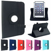 Universal Rotating Leather Flip Stand Case Cover For 7 Inch Android Tablet Pc
