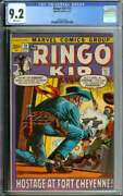 Ringo Kid 13 Cgc 9.2 White Pages // Scarce High Grade Western Marvel 1972