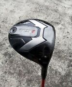 Titleist Ts1 Driver Loft 9.5 Anddeg With Genuine Head Cover From Japan Used Golf