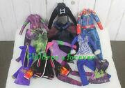Lot 12 Pcs Disney Descendants And Attractionistas Monster High Doll Clothes Outfit