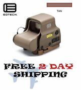 Eotech Exps3-0 Holographic Weapon Sight Tan 68moa Ring And 1 Moa Dot Recitile New