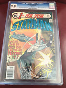 Dc 1st Issue Special 12 Cgc 9.8 White Pages First Appearance Starman