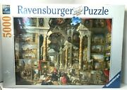 Ravensburger 5000 Piece Puzzle Modern Rome By Giovanni Paolo Panini 17409 New