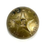 Civil War Confederate Mississippi Infantry Button Hyde And Goodrich N-o I On Star